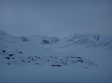 Views to Sneachda today as we skinned on by