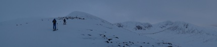 Conditions today looking into Sneachda